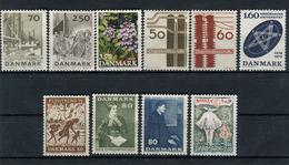 Denmark. 10 Diff. Stamps** - Lotes & Colecciones