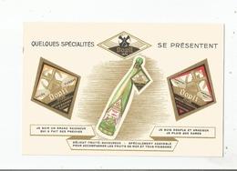 CARTE PUBLICITAIRE ANCIENNE  VIN D'ALSACE DOPFF NEGOCIANTS AU MOULIN A RIQUEWIHR - Pubblicitari