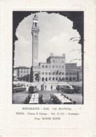 Cartolina Siena 1957 Ristorante Al Mangia - Siena
