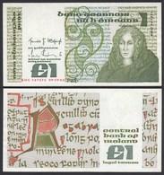 IRLAND - IRELAND 1 POUND Banknote 1982 Pick 70c VF (3)  (24940 - Irland