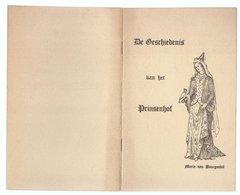 BRUGGE DE GESCHIEDENIS VAN HET PRINSENHOF - MARIA VAN BOURGONDIË - Geschichte