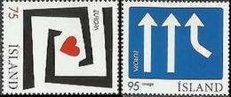 CEPT / Europa 2006 Islande N° 1056 Et 1057 ** L'intégration - 2006