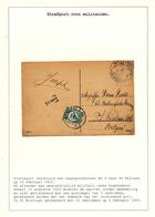 826/29 - TAXATION Sur Poste Militaire - Carte-Vue Postes Militaires Belges 6 En 1925 - Taxée 10 C à ST NICOLAAS - Marcophilie