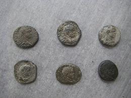Lot De Six Monnaies Provinciales Romaines à Identifier - Romaines