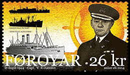 DANMARK Foroyar 0815 Bâteaux, Débarquement - Guerre Mondiale (Seconde)