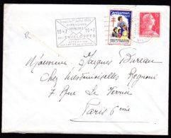 1955 Préservez Vous ... Comité National De Défense Contre La Tuberculose - Erinnophilie