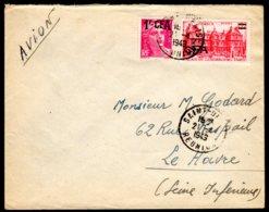 1949 REUNION - Lettre De SAINT-DENIS Pour LE HAVRE - Réunion (1852-1975)