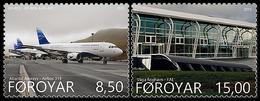 DANMARK Foroyar 0820/21 Airbus 319, Aéroport - Aviones