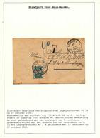831/29 - TAXATION Sur Poste Militaire - Carte Souvenir De SOIGNIES 1925 - Taxée 10 C Par Postes Militaires Belges 1 A - Military Post