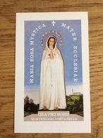 Maria, Rosa Mystica, Mater Ecclesiae, Ora Pro Nobis - Devotieprenten