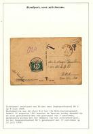 832/29 - TAXATION Sur Poste Militaire - Carte-Vue BILSEN 1926 - Taxée 10 C Par Postes Militaires Belges 1 - Marcophilie