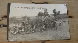 Carte Photo AU LARZAC - 1939  ………NK-3906 - War 1939-45