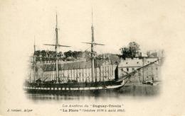 CAMPAGNE DUGUAY TROUIN LA FLORE ROCHEFORT CHARENTE MARITIME BATEAUX ECOLE ASPIRANTS TRANSPORTS VOILIERS MILITARIA - Sailing Vessels