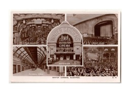 Vintage Photo Postcard - Views  Of The Winter Gardens Entertainment Complex, Town Center Blackpool, Lot # ETS 482 - Inglaterra
