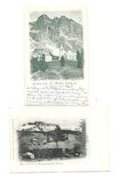 2 AK Abtei - Um 1900 - Italie