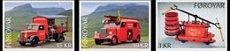 DANMARK Foroyar 0845/47 Pompiers - Brandweer