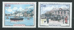 MONACO 1988 . N°s 1643 Et 1644 . Neufs ** (MNH) - Monaco