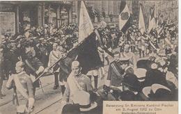 Cöln A.Rh. Beisetzung Kardinal Fischer Am 3.August 1912 Ngl #F4818 - Germany