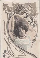 CPA  FEMME  Artiste Anna HELD  Style Art Nouveau - Artistes