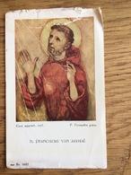 Franciscus Van Assisië, Gebed Van Een Missionarisziel, De Kuispenning, Klooster 'Mater Dolorosa' Mook - Devotieprenten
