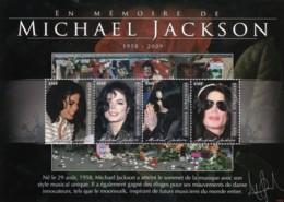 Togo - Michael Jackson 4v - Togo (1960-...)