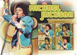 Togo - Michael Jackson ( Jeune ) 4v - Togo (1960-...)