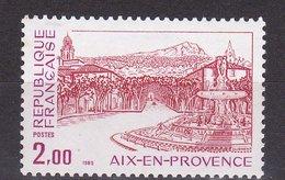 N° 2194 Série Touristique: Aix-en-Provence: Un  Timbre Neuf Impeccable Sans Charnière - Frankrijk