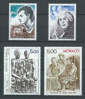 MONACO 1988 . Série N°s 1655 à 1658 . Neufs ** (MNH) - Monaco