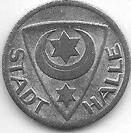 *notgeld  Halle 10 Pfennig 1920  .fe  5568.1/f187.1 - [ 2] 1871-1918 : Imperio Alemán