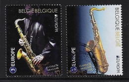 Europa Saxofoon - Oblitérés