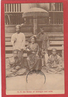 CPA: Malaysia - H.H. The Sultan Of Selangor And Suite (Publisher Lambert, Singapore) - Malaysia
