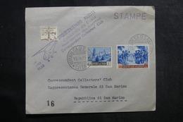 SAINT MARIN - Enveloppe Par Vol Par Hélicoptère En 1952 - L 41395 - Saint-Marin
