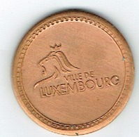 Luxembourg Jeton /Token Parking (Ville) Millenium In The City. - Jetons & Médailles