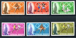 Togo, 1968, Olympic Summer Games Mexico, Sports, MNH Imperforated, Michel 661-666B - Togo (1960-...)