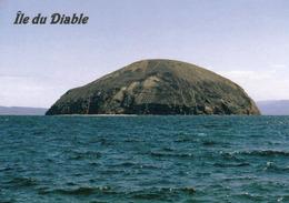 1 AK Djibouti * Der Golf Ghoubet-el-Kharab Mit Der Vulkaninsel Île Du Diable - Devil's Island * - Dschibuti