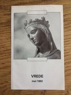 Apostolaat Van Het Gebed Te Nijmegen, Vrede - Devotieprenten