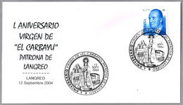 """50 Años VIRGEN DE """"EL CARBAYU"""" - Patrona De Langreo, Asturias, 2004 - Cristianismo"""