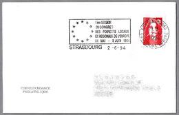 CONGRESO De PUEBLOS Y REGIONES DE EUROPA - Congress Of Towns And Regions Of Europe. Strasbourg 1994 - Instituciones Europeas