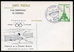 FRANCE 1982 - GRENOBLE - Finale Coupe Davis - Tennis