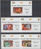 Burundi  2012 Minerals Minéraux BF Luxe Imperf MNH - Minéraux