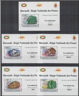 Burundi  2013 Minerals Minéraux BF Luxe Imperf MNH - Minéraux