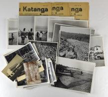 28681g Congo Et Katanga – Photographies Ensemble De 32 Photos Légendées Des Années 1950 - 1960 - Africa