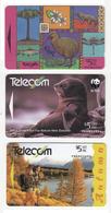 New Zealand 3 Used Phonecards D190901 - Nuova Zelanda