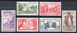 SOMALIS - YT N° 141 à 146 - Neufs * - MH - Cote: 17,50 € - Unused Stamps