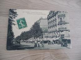CPA 75 PARIS XVII ème  Avenue Des Thermes Prise De La Rue VILLEBOIS MAREUIL - District 17