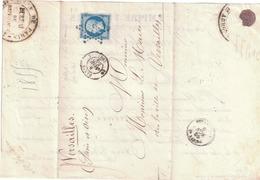 LETTRE - 1852 Louis-Napoleon
