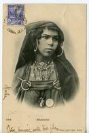 1477. CPA TUNISIE. BEDOUINE. JEUNE FILLE. ECRITE DE CRETEVILLE REGENCE DE TUNIS 1902 - Tunisia