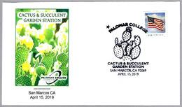 CACTUS & SUCCULENT GARDEN STATION. San Marcos CA 2019 - Cactus