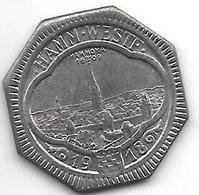 *notgeld  Hamm Westf. 50 Pfennig  1918 Fe  5852.4/f191.9 - [ 2] 1871-1918 : Empire Allemand