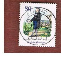 GERMANIA (GERMANY) - SG 2034 - 1983  C.M. WILAND, WRITER    -   USED - [7] République Fédérale